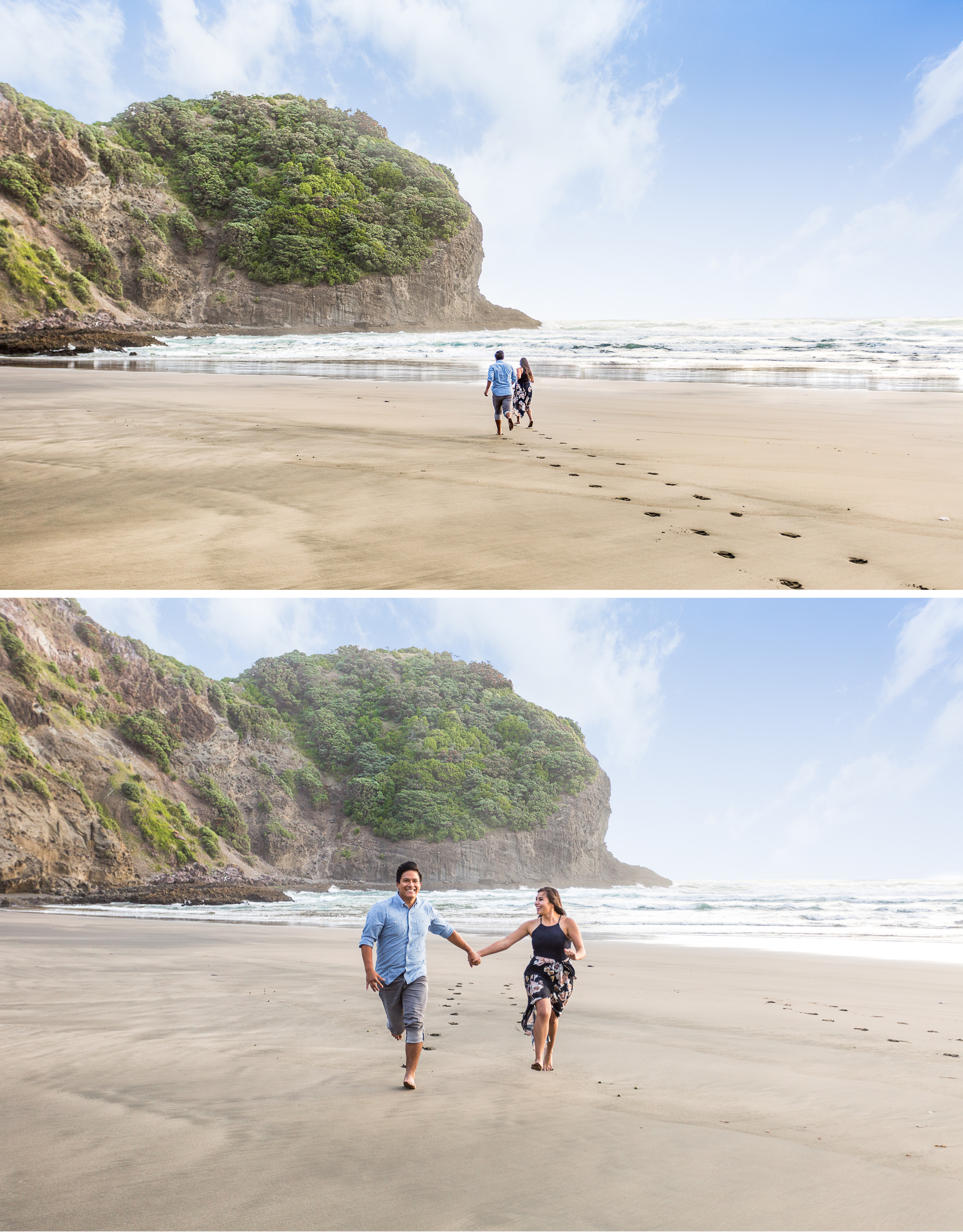 engagement photos in new zealand