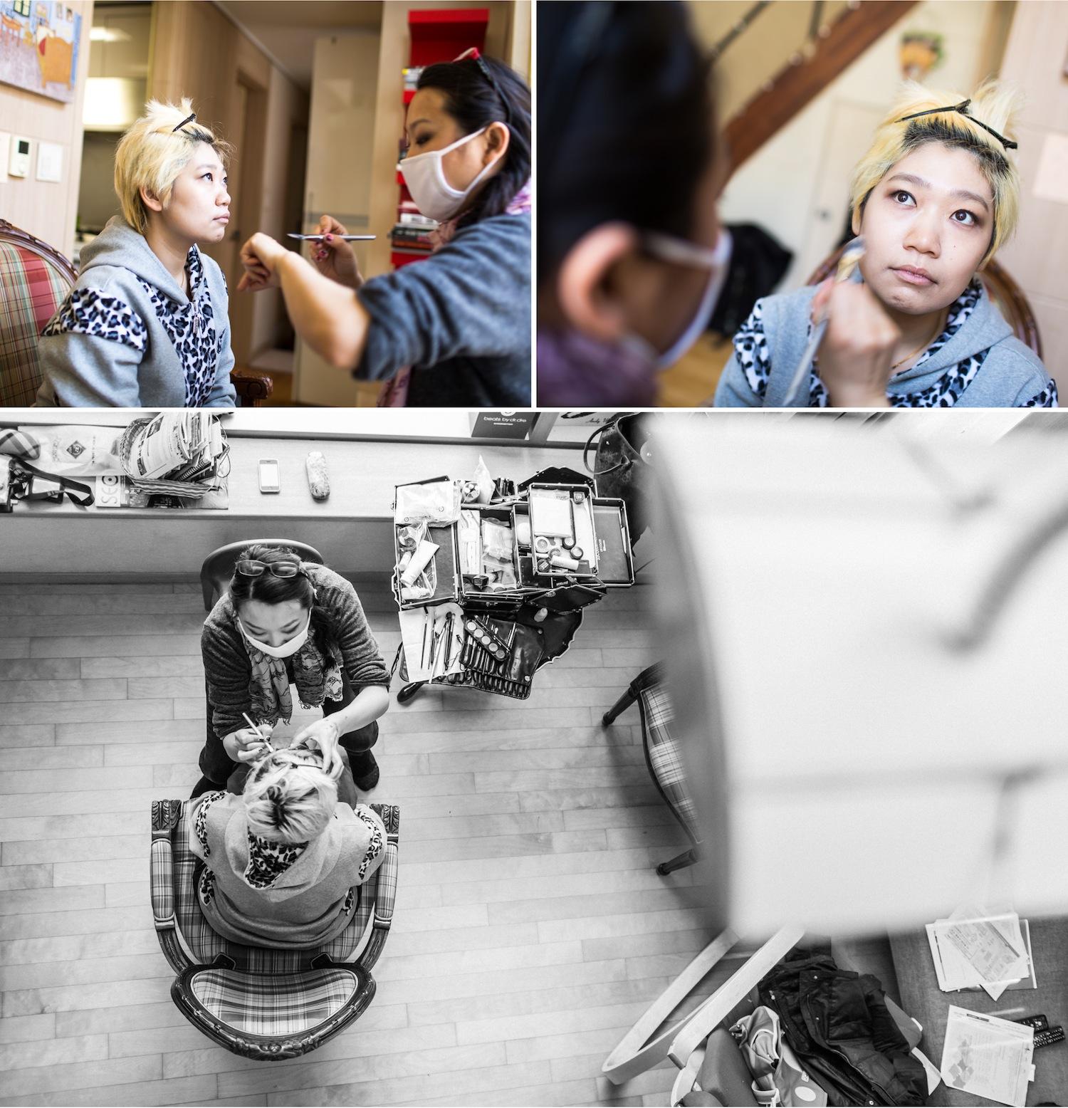 portrait photos in Korea