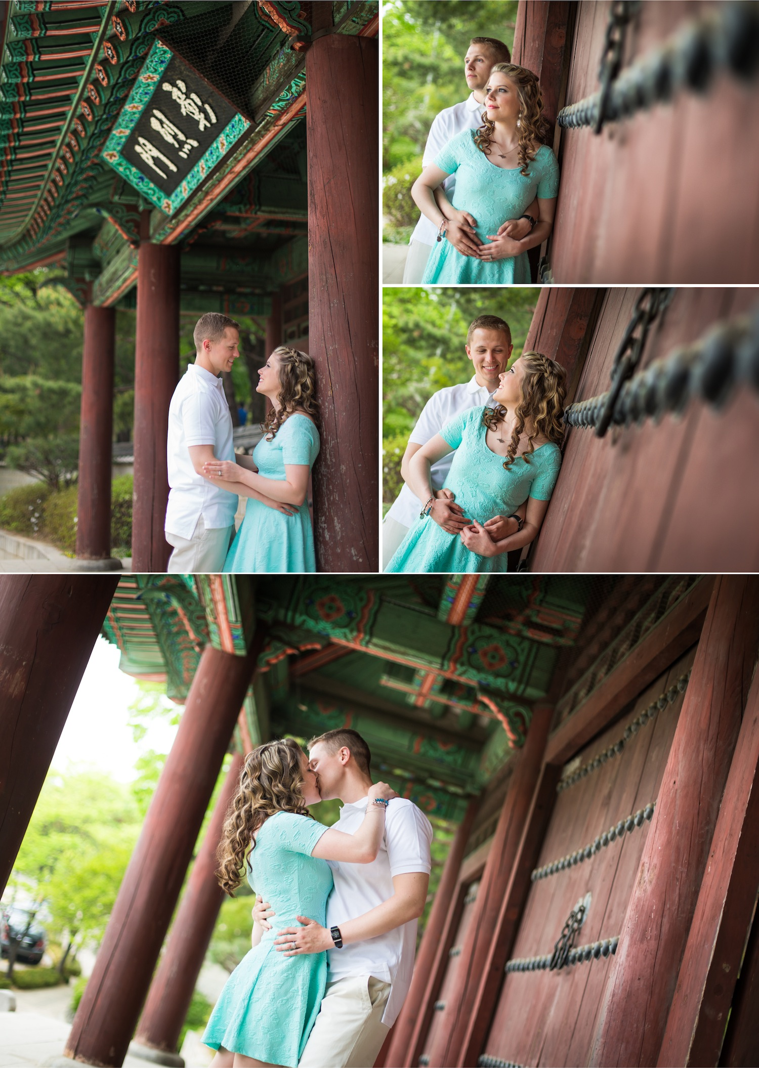 anniversary photos in Korea