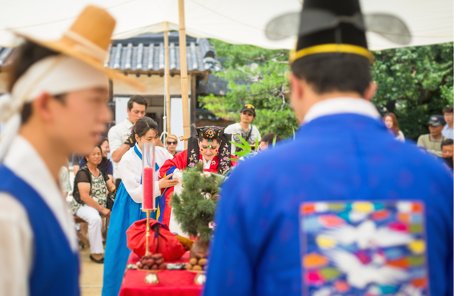 Traditional Korean wedding