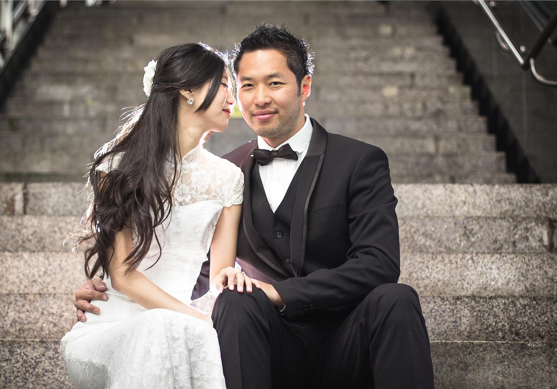 pre-wedding photos in Korea