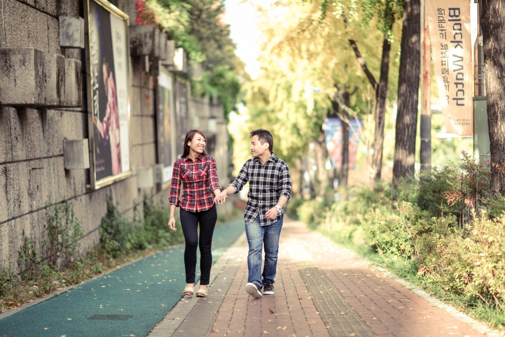 pre-wedding photography Seoul