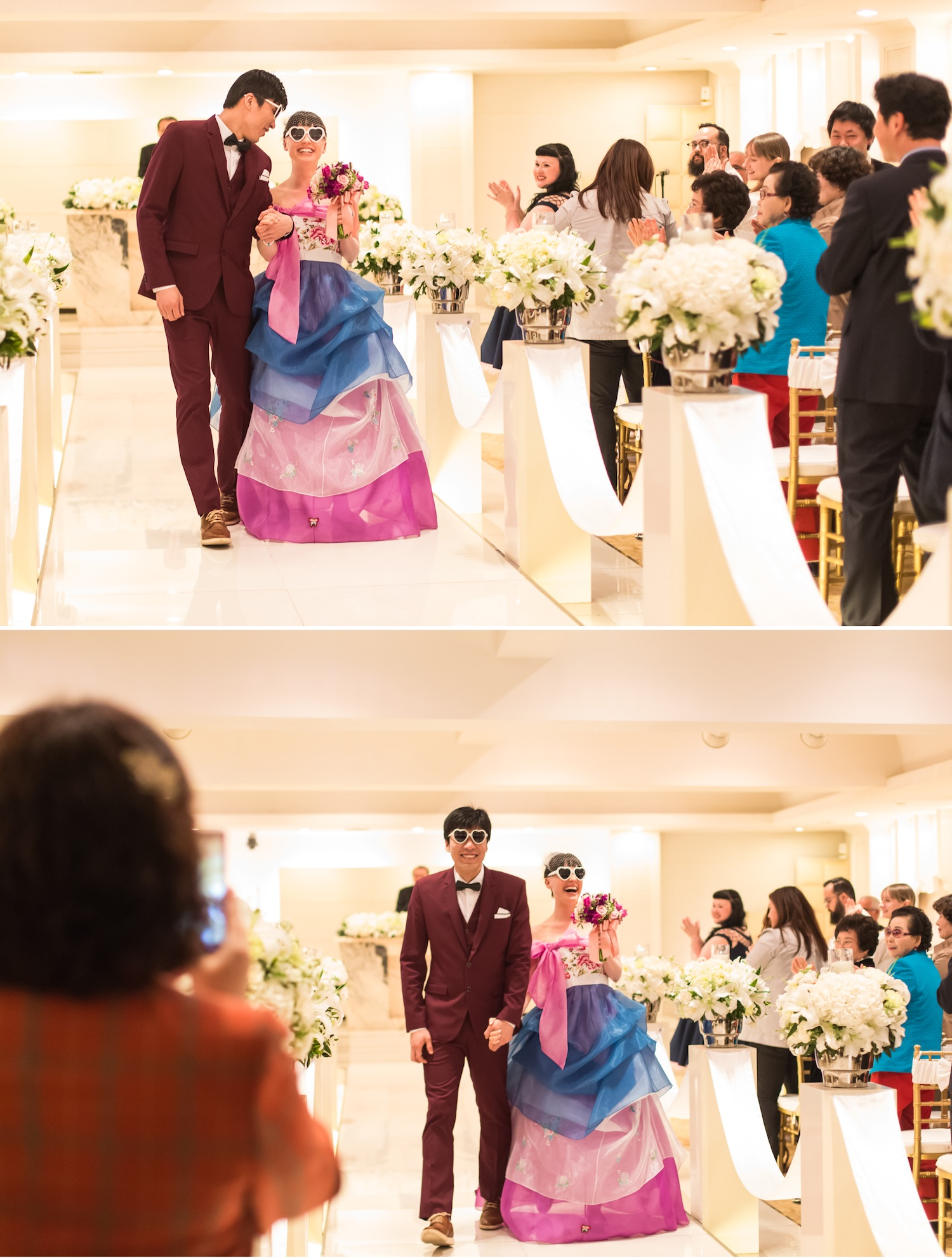 Wedding photos in Korea