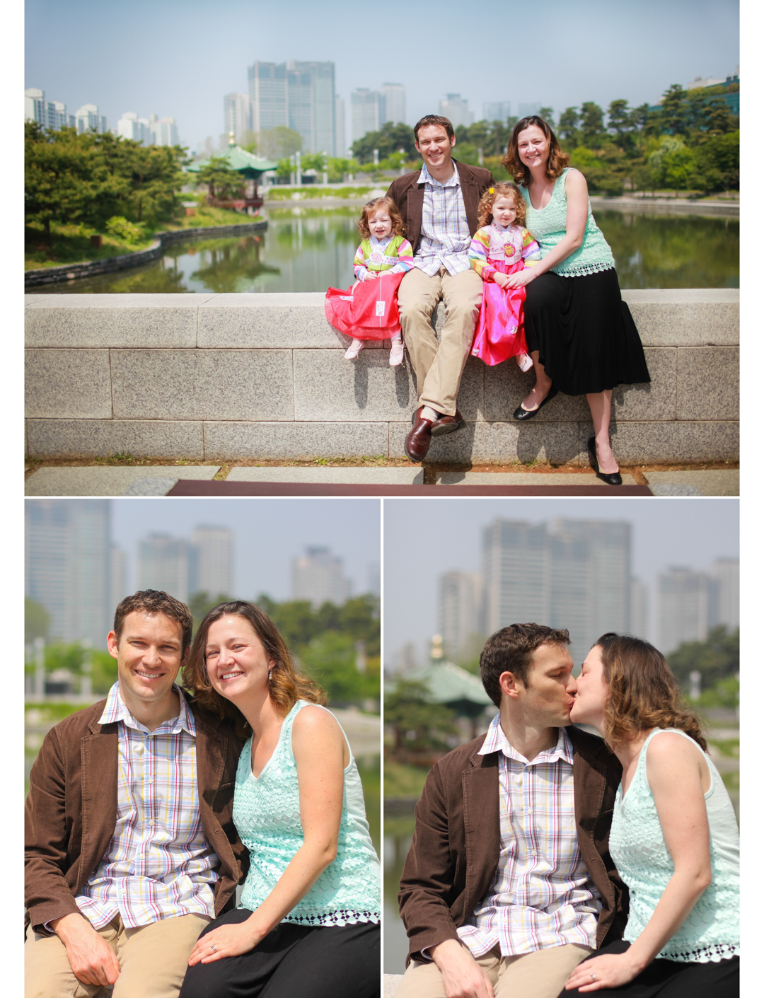 Seoul family portraits
