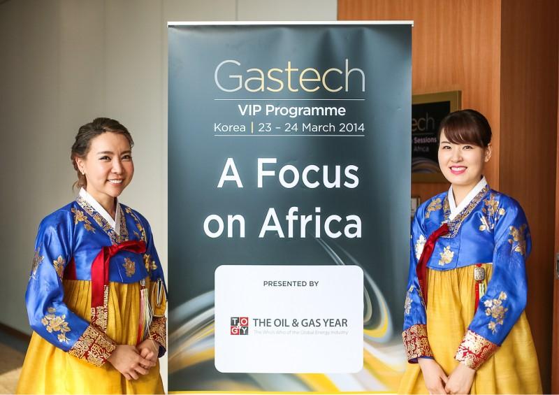 Gastech 2014 at Kintex